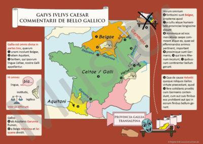 Caesar, Bellum Gallicum: Poster